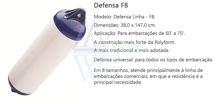 DEFENSA F8 POLYFORM