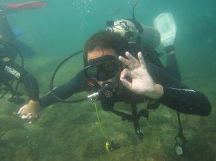 Mergulho…cursos …batismo ..snorkel