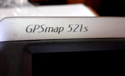 gps map Garmin 521 s